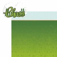 St. Patty: Cheers 2 Piece Laser Die Cut Kit