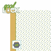 St. Patty: Good Luck 2 Piece Laser Die Cut Kit