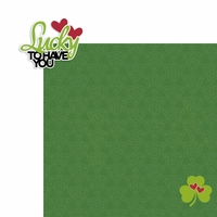 St. Patty: Lucky to 2 Piece Laser Die Cut Kit