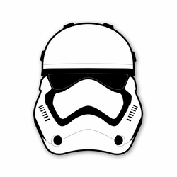 Star Wars: First Order Trooper Laser Die Cut