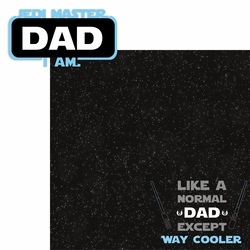 Star Wars: Jedi Master Dad 2 Piece Laser Die Cut Kit