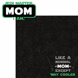 Star Wars: Jedi Master Mom 2 Piece Laser Die Cut Kit
