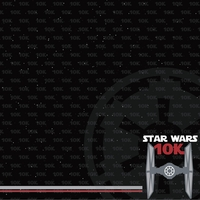Star Wars Run: 10k 12 x 12 Paper