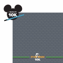 2SYT Star Wars Run: 10k 2 Piece Laser Die Cut Kit