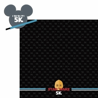 Star Wars Run: 5k 2 Piece Laser Die Cut Kit