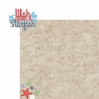 Starfish: Wish Upon 2 Piece Laser Die Cut Kit