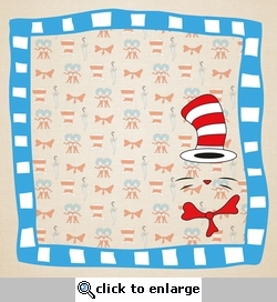 Story Time: Cat In The Hat 12 x 12 Paper