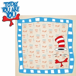 Story Time: Cat In The Hat 2 Piece Laser Die Cut Kit