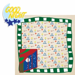 2SYT Story Time: Goodnight Moon 2 Piece Laser Die Cut Kit