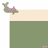 Succulent: Stuck on you 2 Piece Laser Die Cut Kit