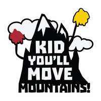 Suess: Move Mountains Die Cut