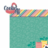 Summer Lovin': Coolin' Off 2 Piece Laser Die Cut Kit