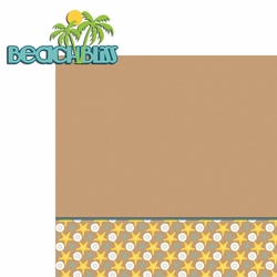 Summer Vacation: Beach Bliss 2 Piece Laser Die Cut Kit