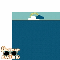 Summer Vacation: Summer is calling 2 Piece Laser Die Cut Kit