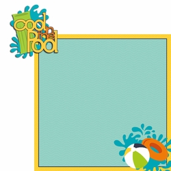 Summertime: Cool Pool 2 Piece Laser Die Cut Kit