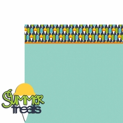 Summertime: Summer Treats 2 Piece Laser Die Cut Kit