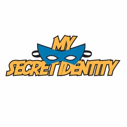 1SYT Super Kid: Secret Identity Boy Laser Die Cut