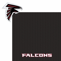 Superbowl LI: Falcons 2 Piece Laser Die Cut Kit