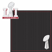 Superbowl LI: Lombardi Trophy 2 Piece Laser Die Cut Kit