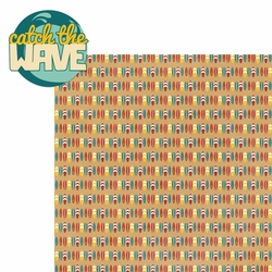 Surf's Up: Catch The Wave 2 Piece Laser Die Cut Kit