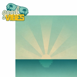 Surf's Up: Good Vibes 2 Piece Laser Die Cut Kit