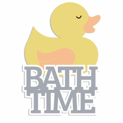 Sweet Baby: Bathtime Laser Die Cut