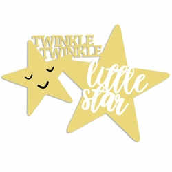 Sweet Baby: Little Star Laser Die Cut