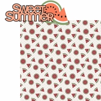 Sweet Summer: Sweet Summer 2 Piece Laser Die Cut Kit