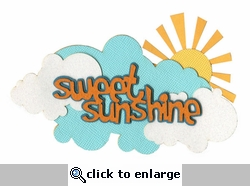 Sweet Sunshine Laser Die Cut
