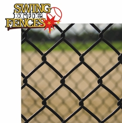 2SYT Swing For The Fences 2 Piece Laser Die Cut Kit