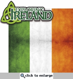 <font color=#f58e8f>SYT&hearts;</font><font color=#006666>The Emerald Isle: Exploring Ireland 2 Piece Laser Die Cut</font>