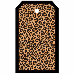 Tag-UR-It Cheetah Print Photo Tag