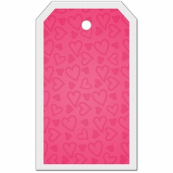 Tag-UR-It Doodled Hearts Photo Tag