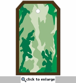 SYT Tag-UR-It Green Camo Photo Tag