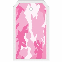 2SYT Tag-UR-It Pink Camo Photo Tag