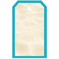 SYT Tag-UR-It White Beach Sand Photo Tag