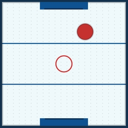 2SYT Tabletop Games: Air Hockey 12 x 12 Paper