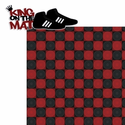 Take Down!: King Of The Mat 2 Piece Laser Die Cut Kit
