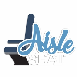 Take Flight: Aisle Seat Laser Die Cut