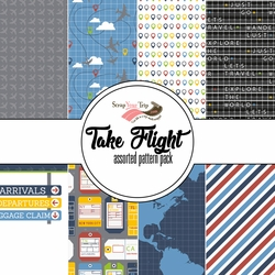 Take Flight Assorted 12 x 12 Paper Pack