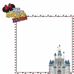 Take me Minnie 2 Piece Laser Die Cut Kit