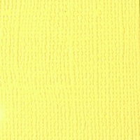 Tapioca Grasscloth 12 X 12 Bazzill Cardstock (Yellow)