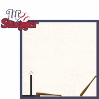 Tee Ball: Lil Slugger 2 Piece Laser Die Cut Kit
