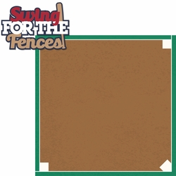 Tee Ball: Swing for the Fences 2 Piece Laser Die Cut Kit