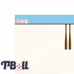 Tee Ball: T Ball 2 Piece Laser Die Cut Kit