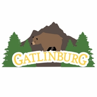 Tennessee: Gatlinburg Laser Die Cut