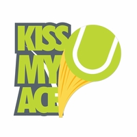 Tennis: Kiss My Ace Laser Die Cut