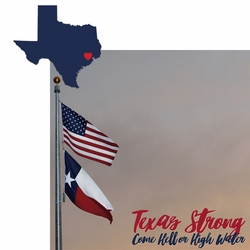 Texas Strong 2 Piece Laser Die Cut Kit