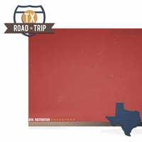Texas Travels: TX Road Trip 2 Piece Laser Die Cut Kit