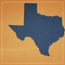 Texas Travels: TX State 12 x 12 Paper